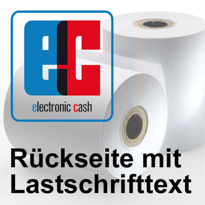 EC Cash Thermorollen 57/45/12 SEPA Lastschrift First Data [25m] - 50 Rollen